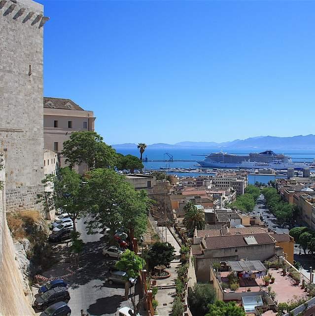 Cagliari Bastione della Santa Croce